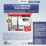 Jual Mesin Popcorn Plus Display (POP33) di Medan