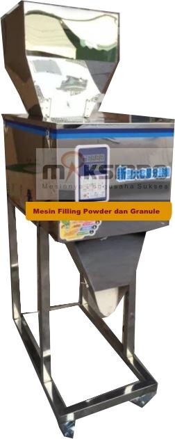 Jual Mesin Filling Tepung dan Biji (20-1200gr) di Medan