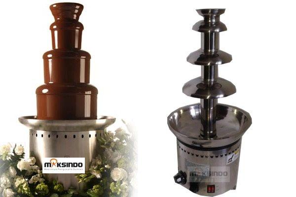 Jual Mesin Chocolate Fountain 4 Tier (MKS-CC4) di Medan