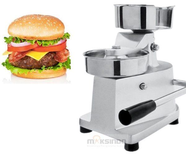 Jual Alat Pencetak Hamburger Manual (HBP15) di  Medan