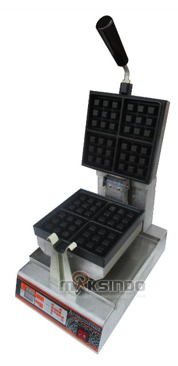 Jual Mesin Waffle Bentuk Kotak (WF-60) di Medan