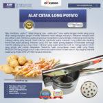 Jual Alat Cetak Long Potato MKS-LPCT30 di Medan