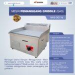 Jual Mesin Pemanggang Griddle (GAS) – GG718 di Medan