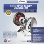 Jual Mesin Cetak Tablet Ukuran 2cm MKS-TBL66 di Medan
