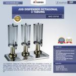 Jual Jus Dispenser Octagonal 3 Tabung (DSP33) di Medan