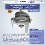 Jual Chafing Dish Bentuk Bulat (Round Roll) 6 Liter di Medan