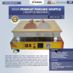 Jual Mesin Pembuat Pancake Souffle (Souffle Machine) MKS-SFL01 di Medan