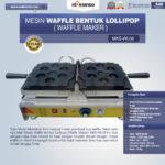 Jual Mesin Waffle Bentuk Lollipop (Waffle Maker) MKS-WL06 di Medan