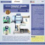 Jual Mesin Pemarut Kelapa Multifungsi AGR-PRT30 di Medan