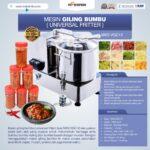 Jual Mesin Giling Bumbu (Universal Fritter) MKS VGC12 di Medan