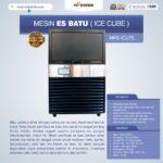 Jual Mesin Es Batu Ice Cube (ICU-75) di Medan
