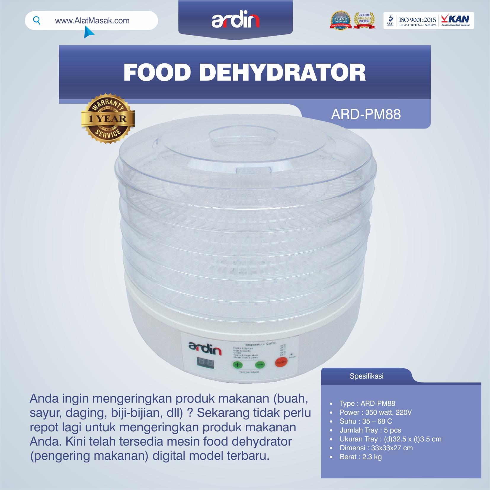 Jual Food Dehydrator ARD-PM88 Medan