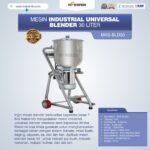 Jual Industrial Universal Blender 30 Liter MKS-BLD30 di Medan