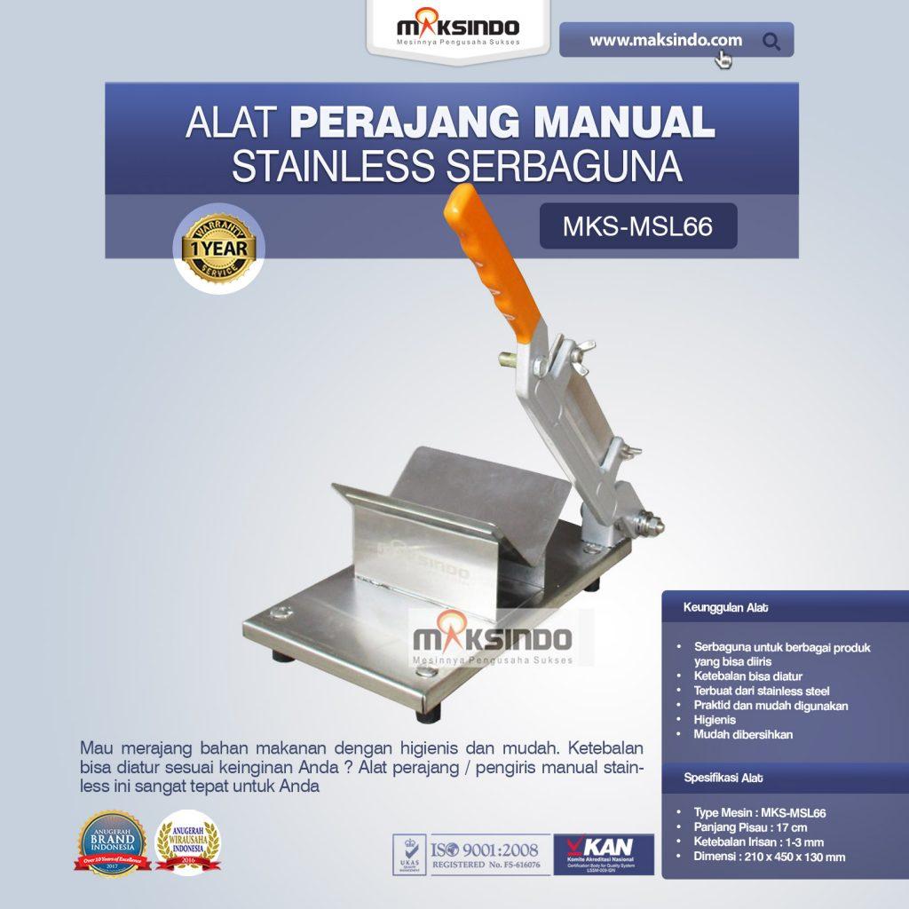 Jual Alat Perajang Manual Stainless Serbaguna di Medan